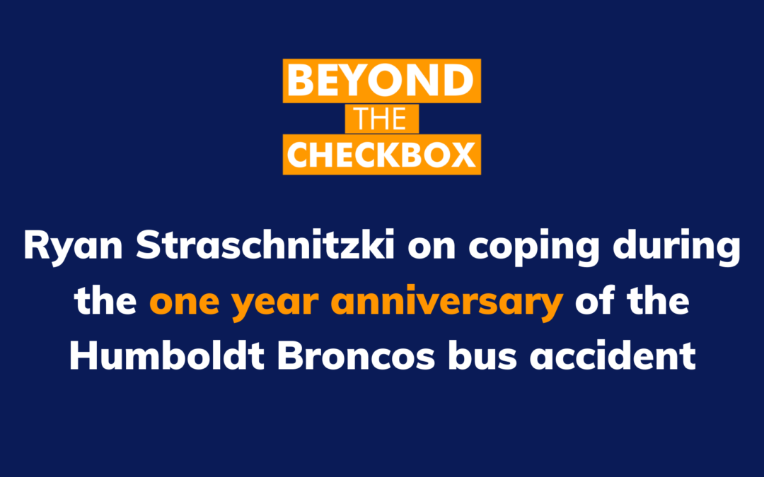 VIDEO: Ryan Straschnitzki on coping during the one year anniversary of the bus accident